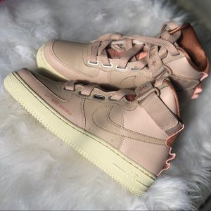 Nike Shoes - Nike Air Force 1 High Utility Particle Beige